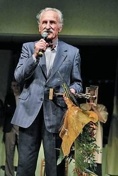 Do Tarnowa przyjechał Franciszek Pieczka (laureat nagrody za całokształt twórczości) Fot. Paweł Topolski