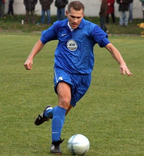 Mariusz Kapłon jest niekwestionowanym liderem swojej drużyny.