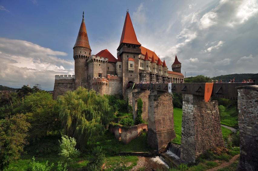 Zamek w Hunedoarze, Rumunia...