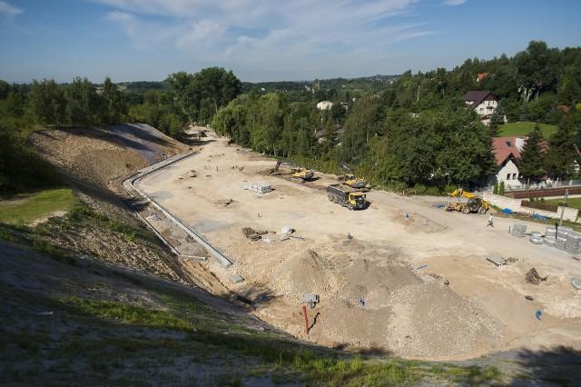 Budowa węzła przesiadkowego i parkingu park and ride Rząska-Mydlniki-Wapiennik