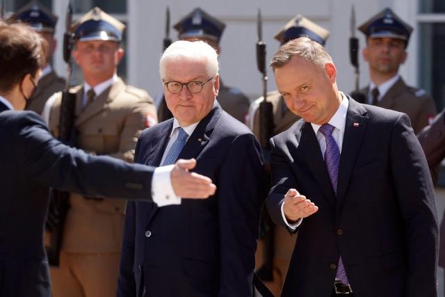 Spotkanie Andrzej Duda - Frank-Walter Steinmeier w 30. rocznicę polsko-niemieckiego traktatu o dobrym sąsiedztwie