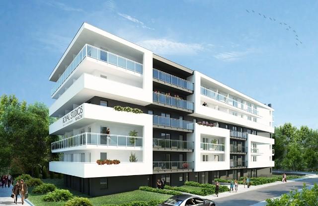 Tak mają wyglądać w rejonie skrzyżowania ul. Klemensiewicza i al. 29 Listopada apartamenty SMART