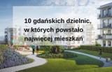 10 gdańskich dzielnic, w których powstało najwięcej mieszkań