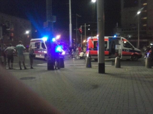 Do wypadku doszło w poniedziałek po godz. 23