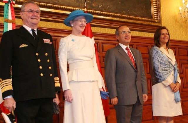 Królowa Danii Małgorzata II (druga z lewej) jest również księżną Kaszub.