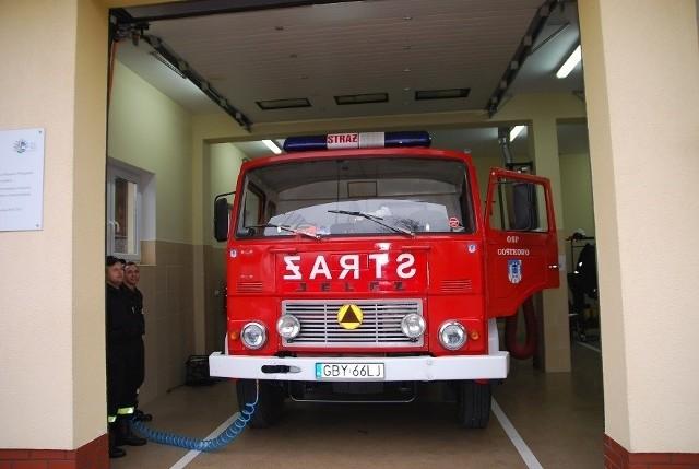 Można kupić strażacki wóz.