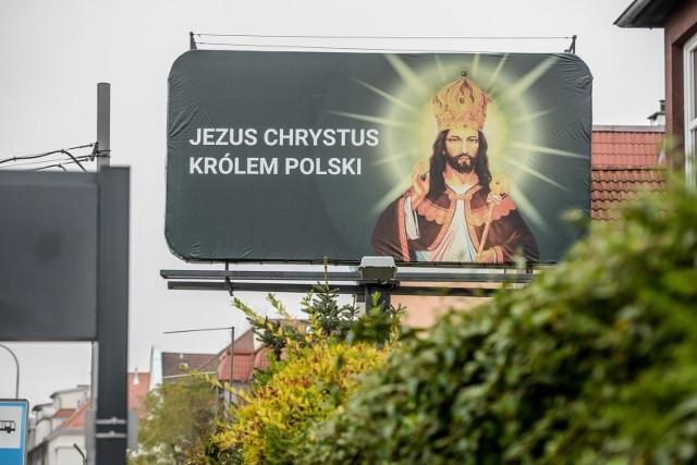 Billboardy z Jezusem Chrystusem są częścią ogólnopolskiej kampanii ewangelizacyjnej
