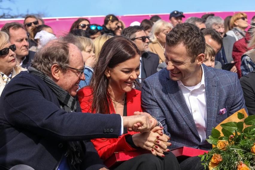 Wojciech Fibak, Agnieszka Radwańska i Mariusz Fyrstenberg