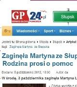 Martyna wróciła do domu po informacji na gp24.pl