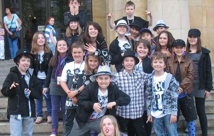 Grupa Kids z instruktorką Ewą Chamerą
