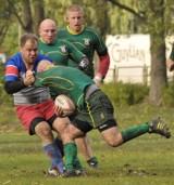 Rugby I liga Kosmaz RC Koszalin - Budowlani Lublin 13:23 (10:11).