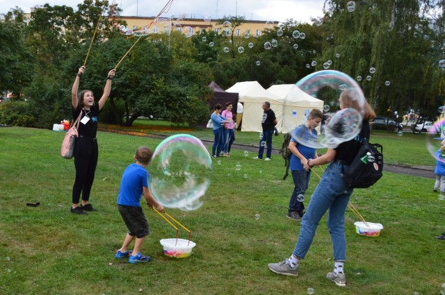 Festiwal Slot Pomorze w Parku Rady Europy w Gdyni był znakomitą zabawą dla mieszkańców w każdym wieku.