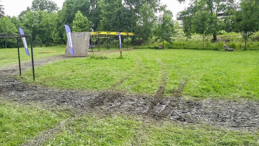 Zniszczona nawierzchnia w Parku Chrobrego w Gliwicach ma być...
