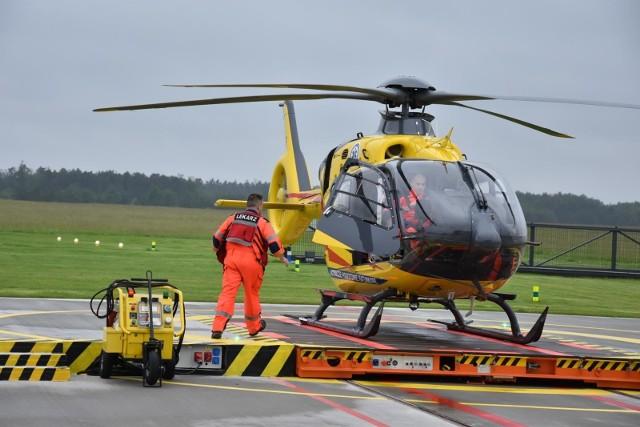W takich sytuacjach liczy się każda minuta, więc do potrzebującego pomocy mężczyzny zadysponowano zespół Lotniczego Pogotowia Ratunkowego.