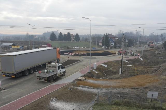 Budowa autostradowego Węzła Niepołomice idzie ekspresowo. Nowy zjazd z A4 będzie gotowy już za pół roku