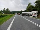 Zginął 33-letni kierowca citroena, który zderzył sięz ciężarówką