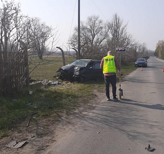 Do tragicznego wypadku doszło w sobotę, 28 marca, na ul. Winnica w Międzyrzeczu. Kompletnie pijany kierowca opla zabił 23-letniego motorowerzystę.