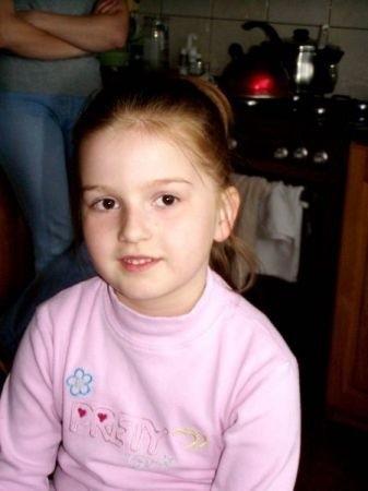 Diana Romanowska w tym roku idzie do szkoły