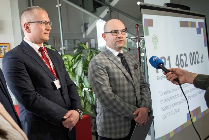 Ponad 120 milionów złotych na rozwój przedsiębiorczości w Podlaskiem