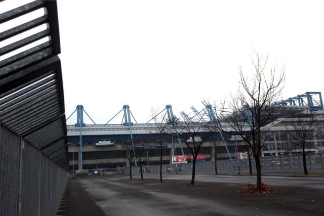 Parking przy stadionie Wisły Kraków