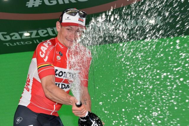 """Andre Greipel """"Gorilla"""" wygrał po raz drugi. To jego 11 zwycięstwo etpowe na wielkim tourze"""