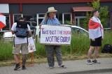 Protestują pod białoruskimi granicami. Tak walczą o demokrację w swoim kraju