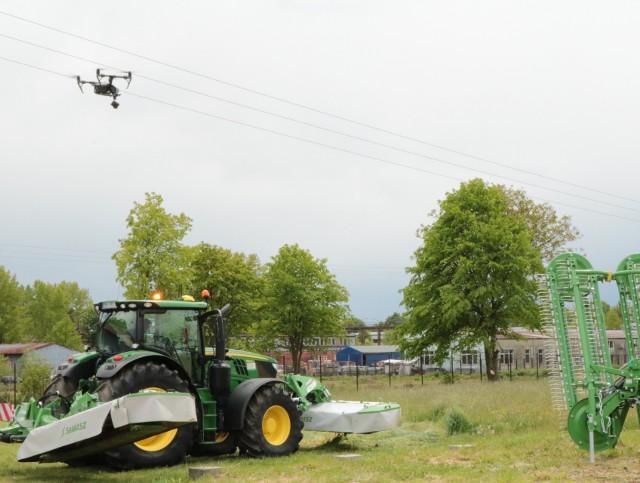 Dron w rolnictwie to już nie przyszłość a teraźniejszość. PODR pokaże, do czego można używać takich urządzeń
