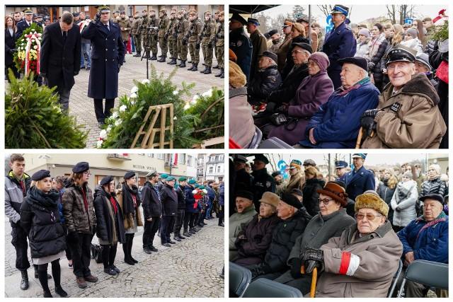 Pomnik Żołnierzy Armii Krajowej. Uroczystości z okazji 78. rocznicy powstania AK