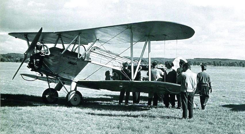Od 1931 r. rozwijało się też w Grudziądzu lotnictwo...