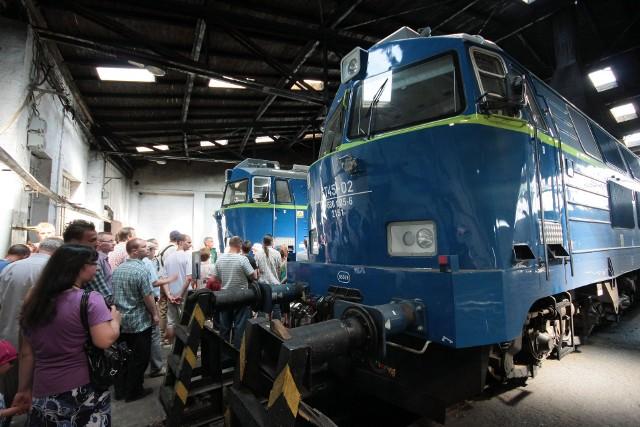Lokomotywownia PKP w Grudziądzu. Zdjęcia z lipca 2010  i marca 2011 roku, gdy zakład jeszcze funkcjonował