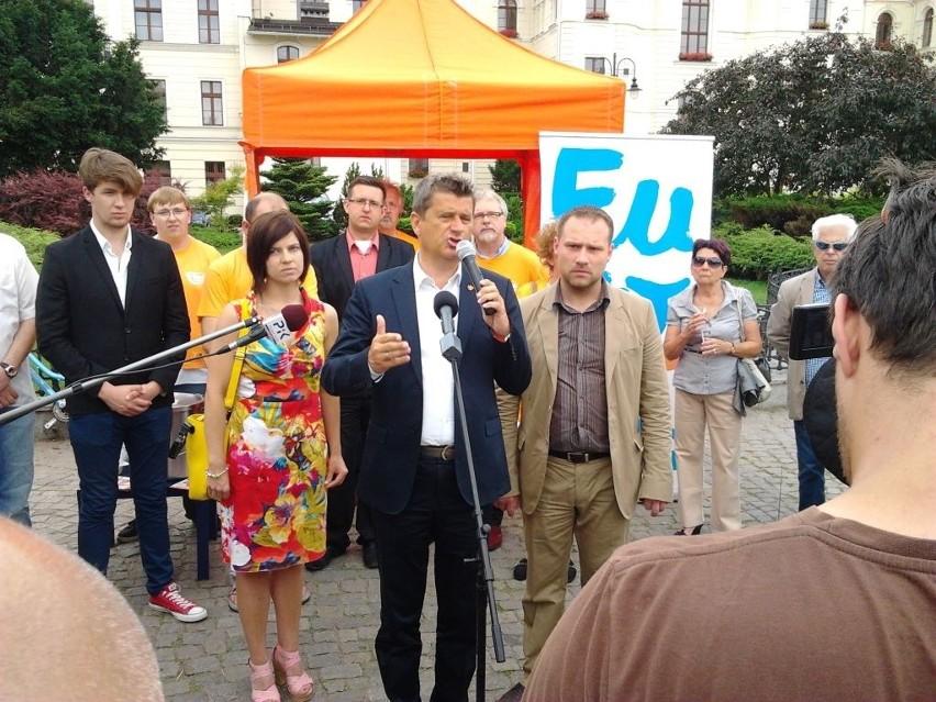 Janusz Palikot w Bydgoszczy