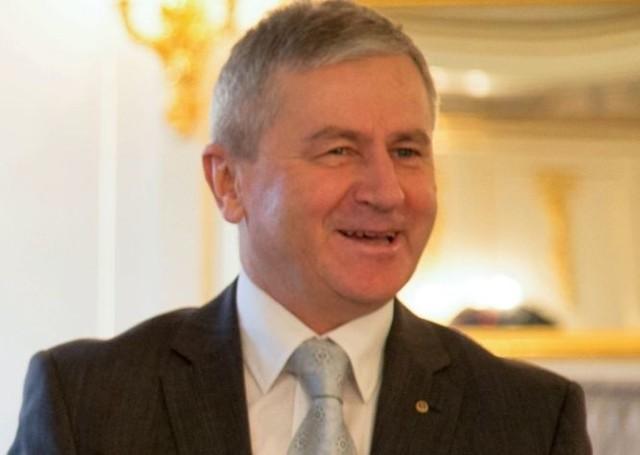 Włodzimierz Skalik, prezes Aeroklubu Polskiego.