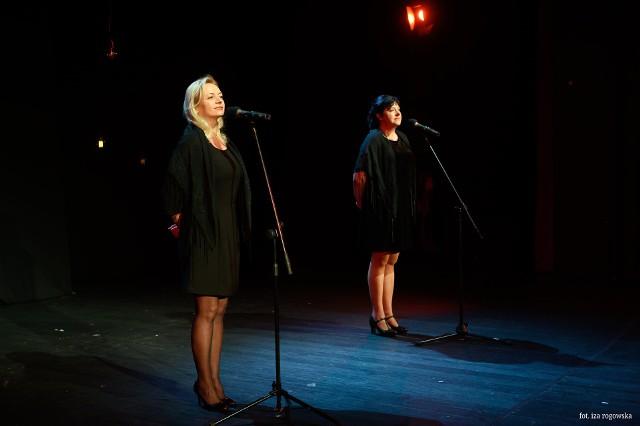 """Recital """"Piosenki neapolitańskie"""" został przygotowany przez dwie znakomite aktorki BTD: Katarzynę Ulicką – Pydę i Żanettę Gruszczyńską – Ogonowską."""