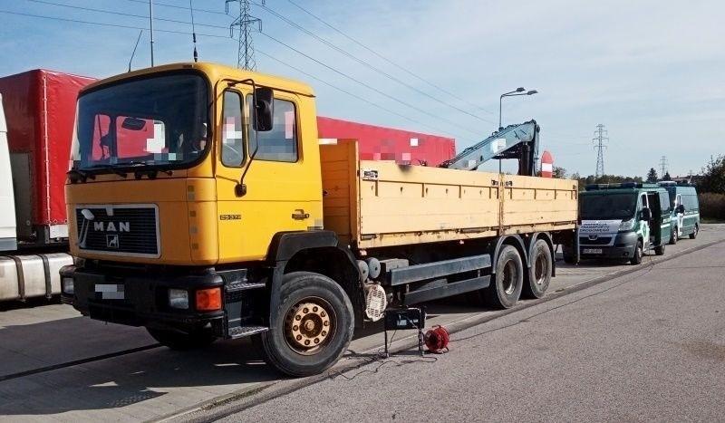 Zatrzymana ciężarówka w Radomiu nie spełniała norm dotyczących spalin.