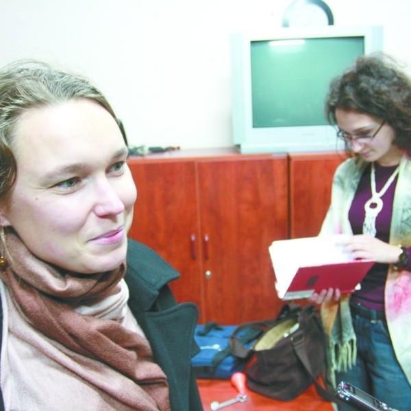 Katarzyna Potoniec (z lewej) i Anna Młynarczuk (z prawej) z wolontariatem związane są od paru lat.