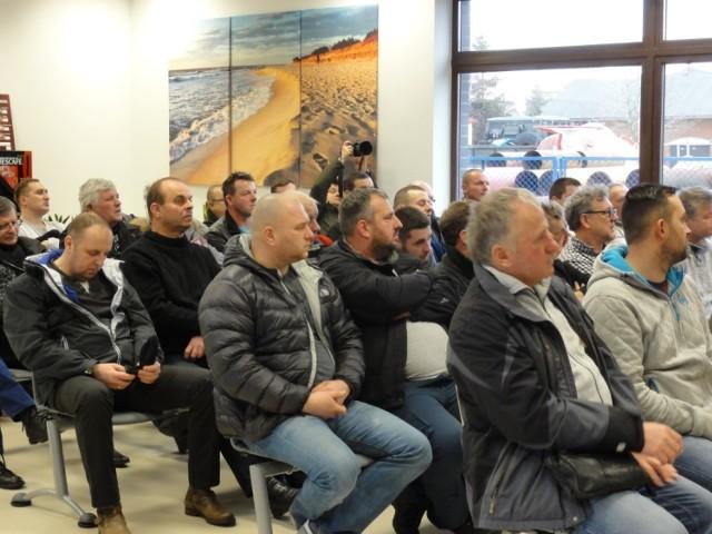 Na spotkanie w Darłowie przybyła około 100 rybaków - armatorów kutrów z całego wybrzeża