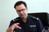 Nowy komendant zielonogórskiej policji: - Zapewnimy poczucie bezpieczeństwa mieszkańcom Zielonaj Góry