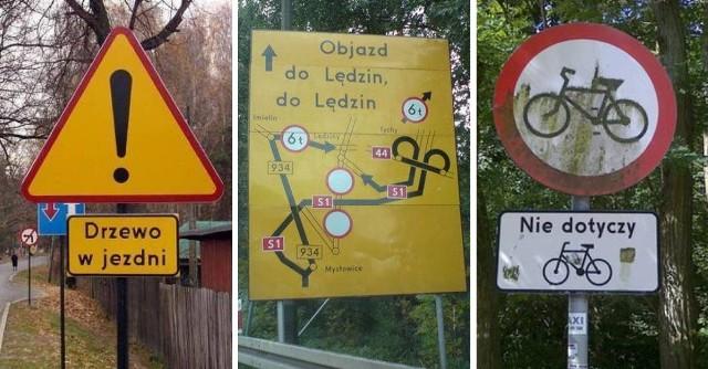 Absurdów drogowych w Polsce jest wiele... Jak ktoś mógł wpaść na takie pomysły? Nie uwierzysz, co niektórzy drogowcy wymyślili! Zresztą zobaczcie sami! Oto zdjęcia!Czytaj dalej. Przesuwaj zdjęcia w prawo - naciśnij strzałkę lub przycisk NASTĘPNE