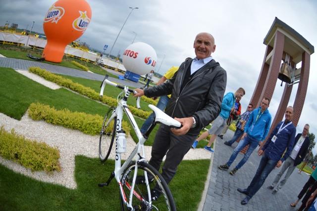 Czesław Lang i specjalny rower dla Papieża Franciszka.