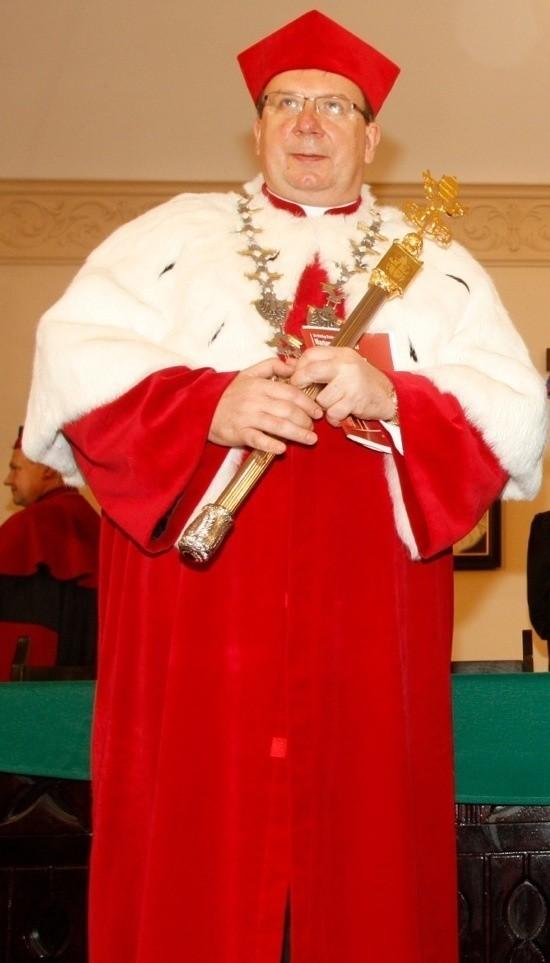 Ksiądz Waldemar Irek był rektorem Papieskiego Wydziału Teologicznego