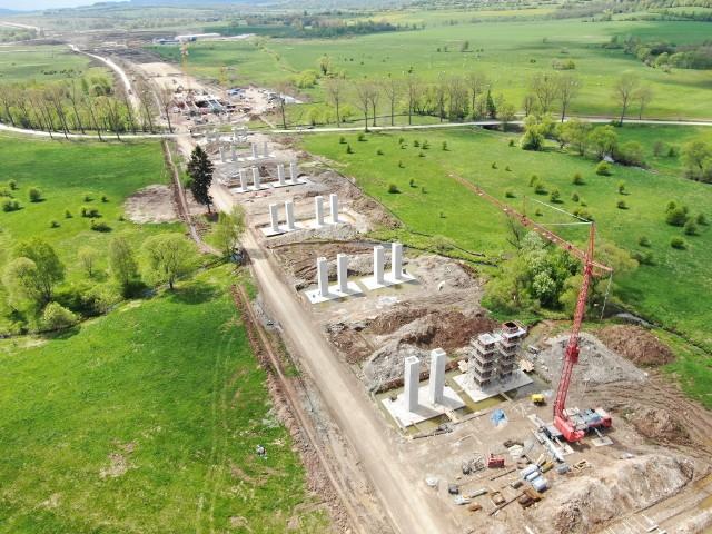 Zaglądamy na budowę dolnośląskiego odcinka S3 Kamienna Góra-Lubawka