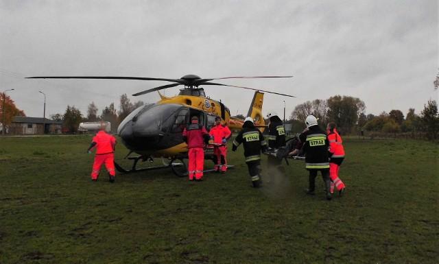 Do niecodziennej interwencji strażaków doszło we wtorek w Krynkach.