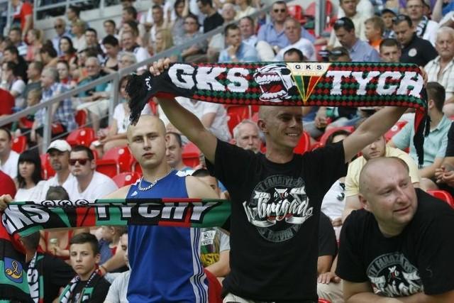 Kibice GKS Tychy wierzą w zwycięstwo