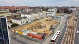 Sosnowiec. Tak się zmienia plac przed dworcem PKP. To jedna z ważniejszych inwestycji w mieście. Nad przebiegiem prac czuwają architekci