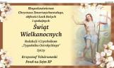 Błogosławieństwa Chrystusa Zmartwychwstałego życzenia wielkanocne od Krzysztofa Tchórzewskiego Posła na Sejm RP