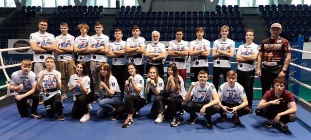 Ekipa PTB Tiger Tarnów - bokserski drużynowy mistrz Małopolski 2021