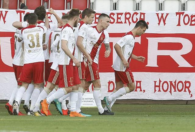 Piłkarze ŁKS ruszają do walki w I lidze