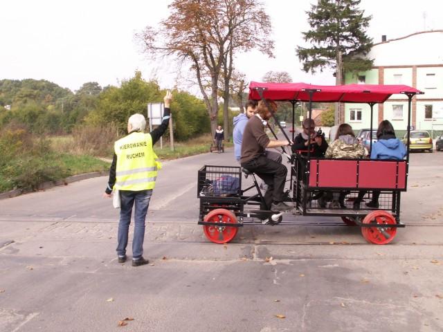 Z Mosiny Pożegowa wyrusza w podróż po starych torach kolejowych rowerowa drezyna