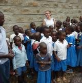 Włocławianka w slumsach Kenii