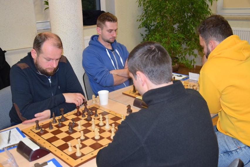 Maciej Woźniak (pierwszy z lewej) po raz pierwszy w życiu...